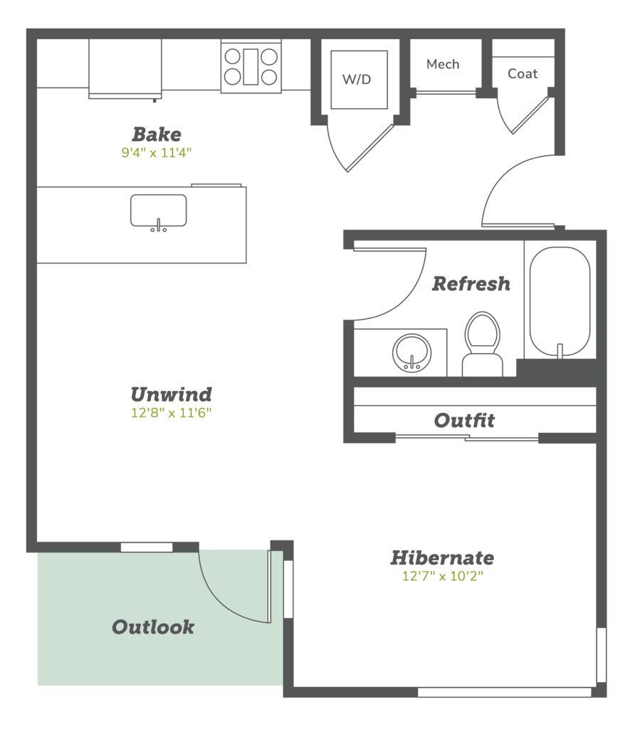 Boulder studio apartments