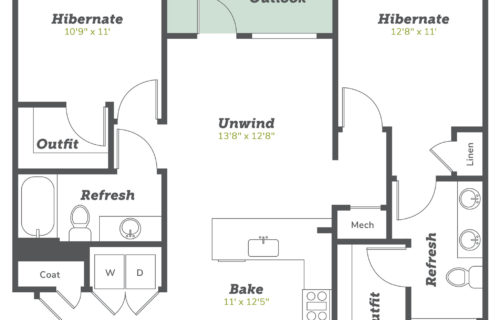 two-bedroom luxury Boulder apartments