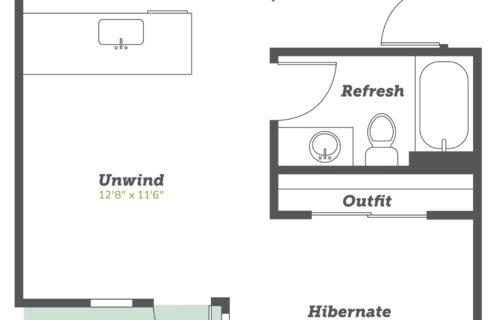 studio Boulder apartments