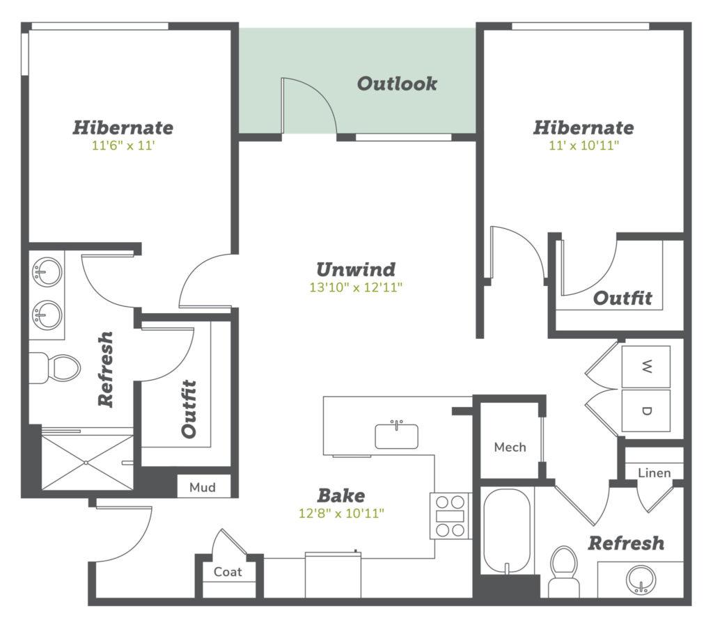 Boulder apartments