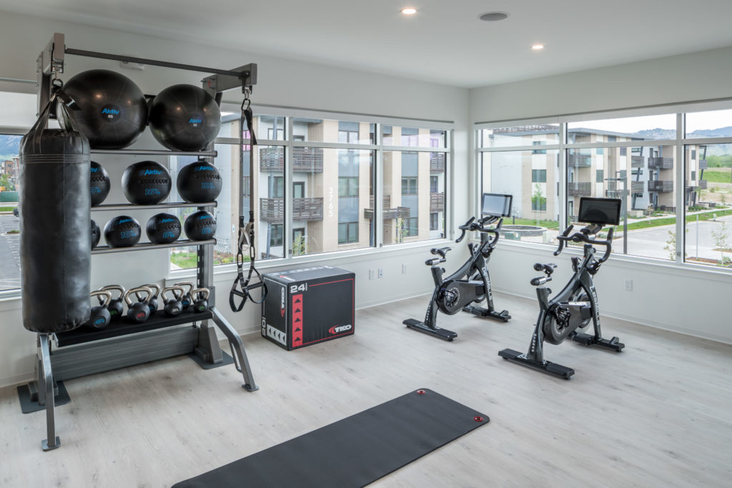 state of the art athletic club at alexan diagonal crossing - Play as Hard as You Work