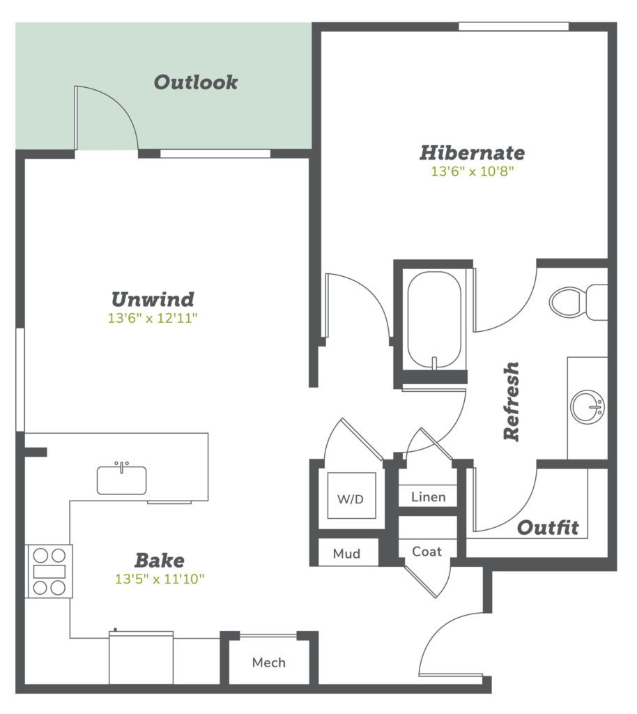 A4 one bed/one bath at Alexan Diagonal Crossing -Live Comfy and Carefreely